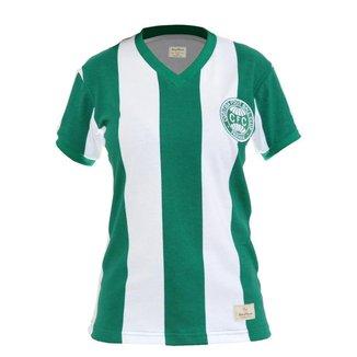 Camisa Retrô Feminina Coritiba 1985