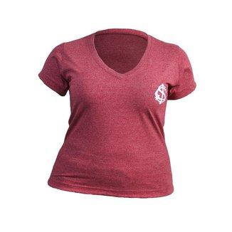Camisa Retro Feminina Internacional Dry Vermelha