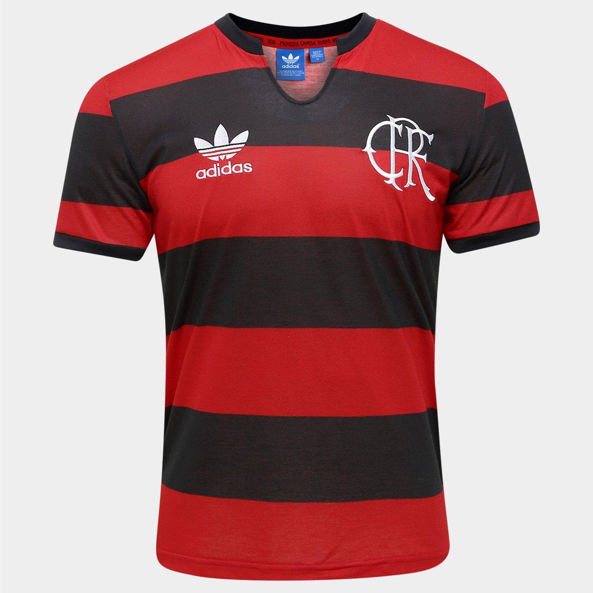Camisa Retrô Flamengo nº 10 Adidas Masculina - Compre Agora  dd1fe3eb8adb0