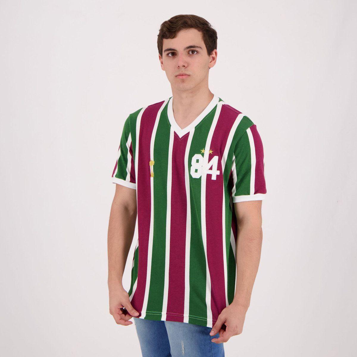 Camisa Retrô Fluminense 1984 Masculina  Camisa Retrô Fluminense 1984  Masculina ... 9614d34fd0f3c