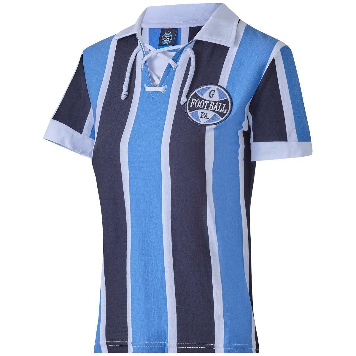 bbbc04af361cd Camisa Retrô Grêmio 1930 Feminina - Azul - Compre Agora