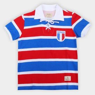 Camisa Retrô Juvenil Fortaleza 1913 Retrô Mania