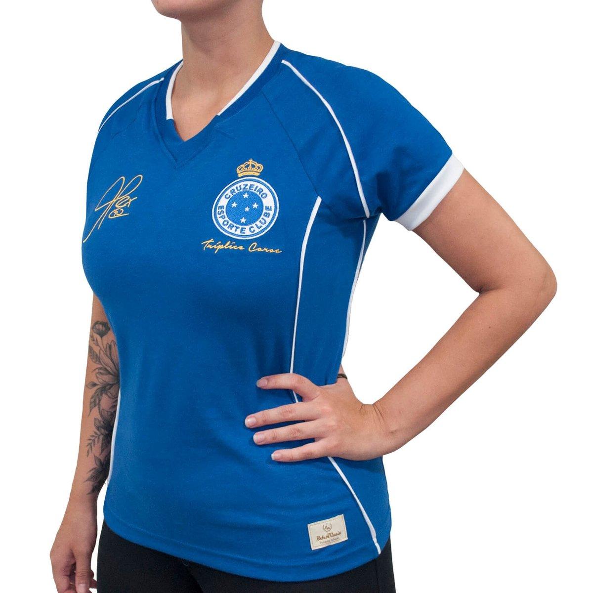 ... Camisa Retrô Mania Cruzeiro 2003 - Alex - Tríplice Coroa Feminina ... bd6adb9799fd5