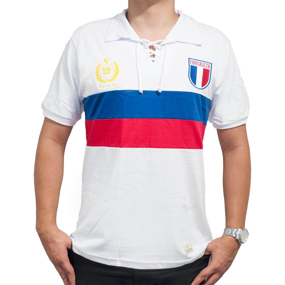 ... Camisa Retrô Mania Fortaleza Centenário - 1923 - Compre Agora Netshoes  504e905902b8b9 ... 04a34b310e964