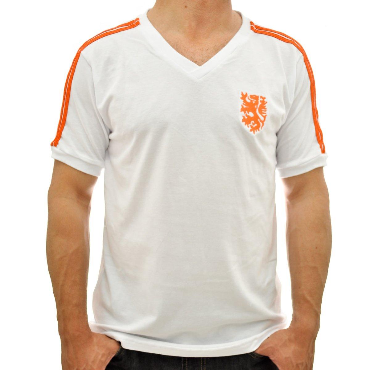 8e5c5792de675 Camisa Retrô Mania Holanda 1974 Reserva Masculina - Compre Agora ...
