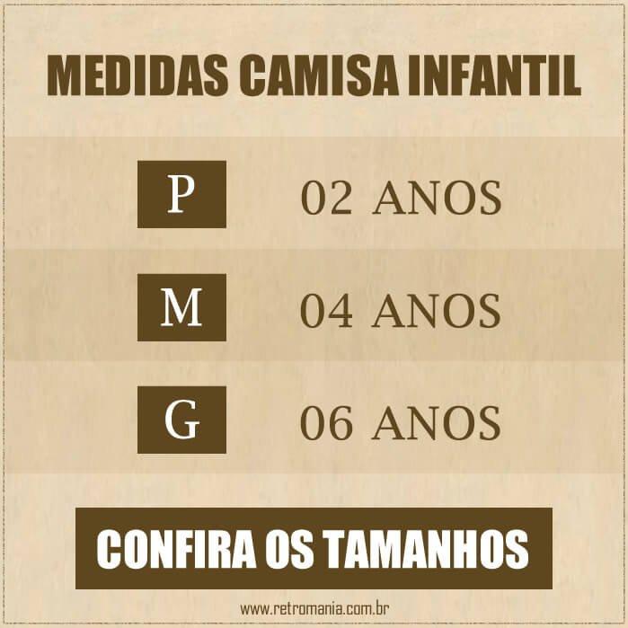Preto Retrô Camisa Branco Preta 1977 e Infantil Branca Mania Ponte wTdn01dqUB