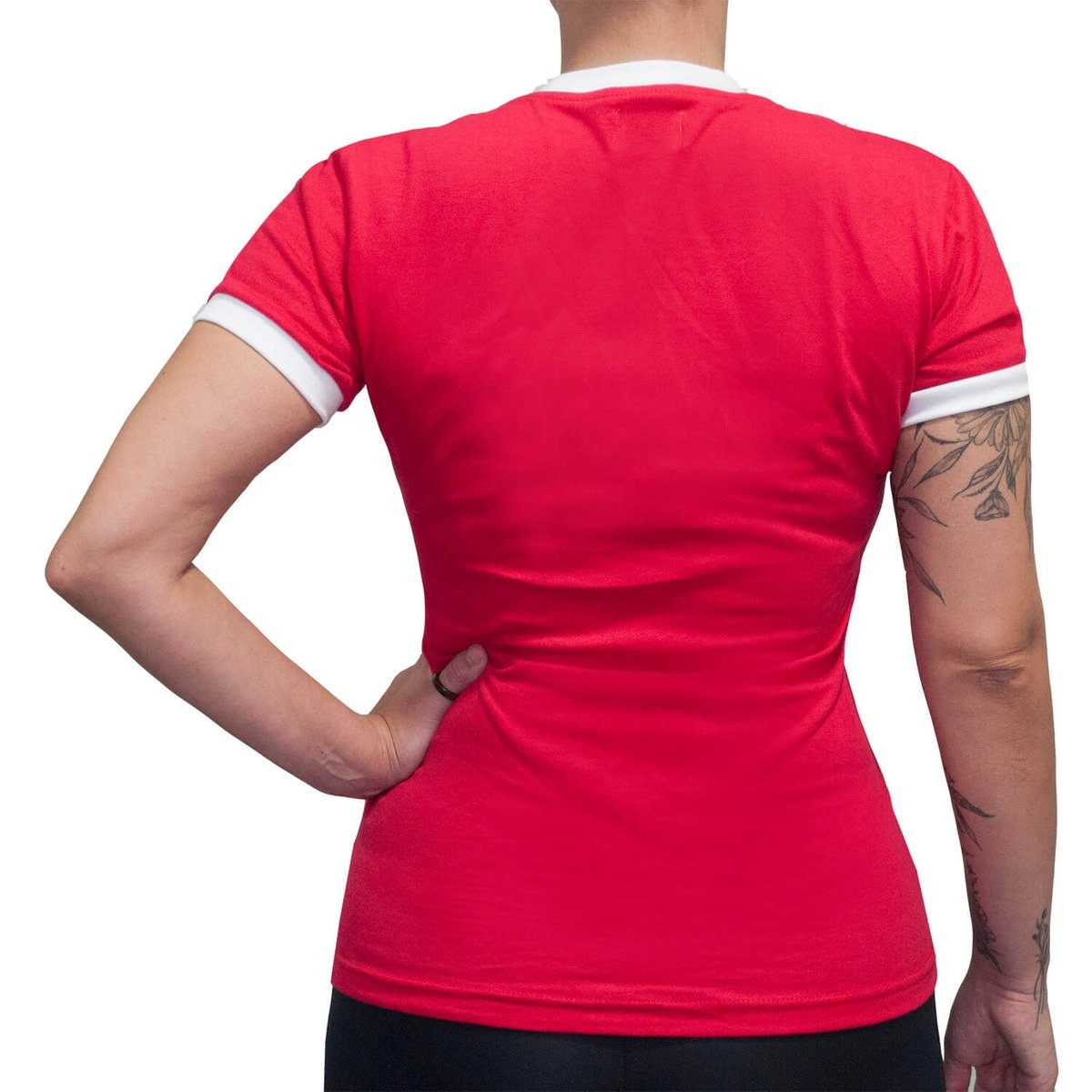 Feminina Retrô Internacional Camisa Camisa Mania 1975 Mania Internacional Vermelho Retrô 1975 w7BnxzfPq
