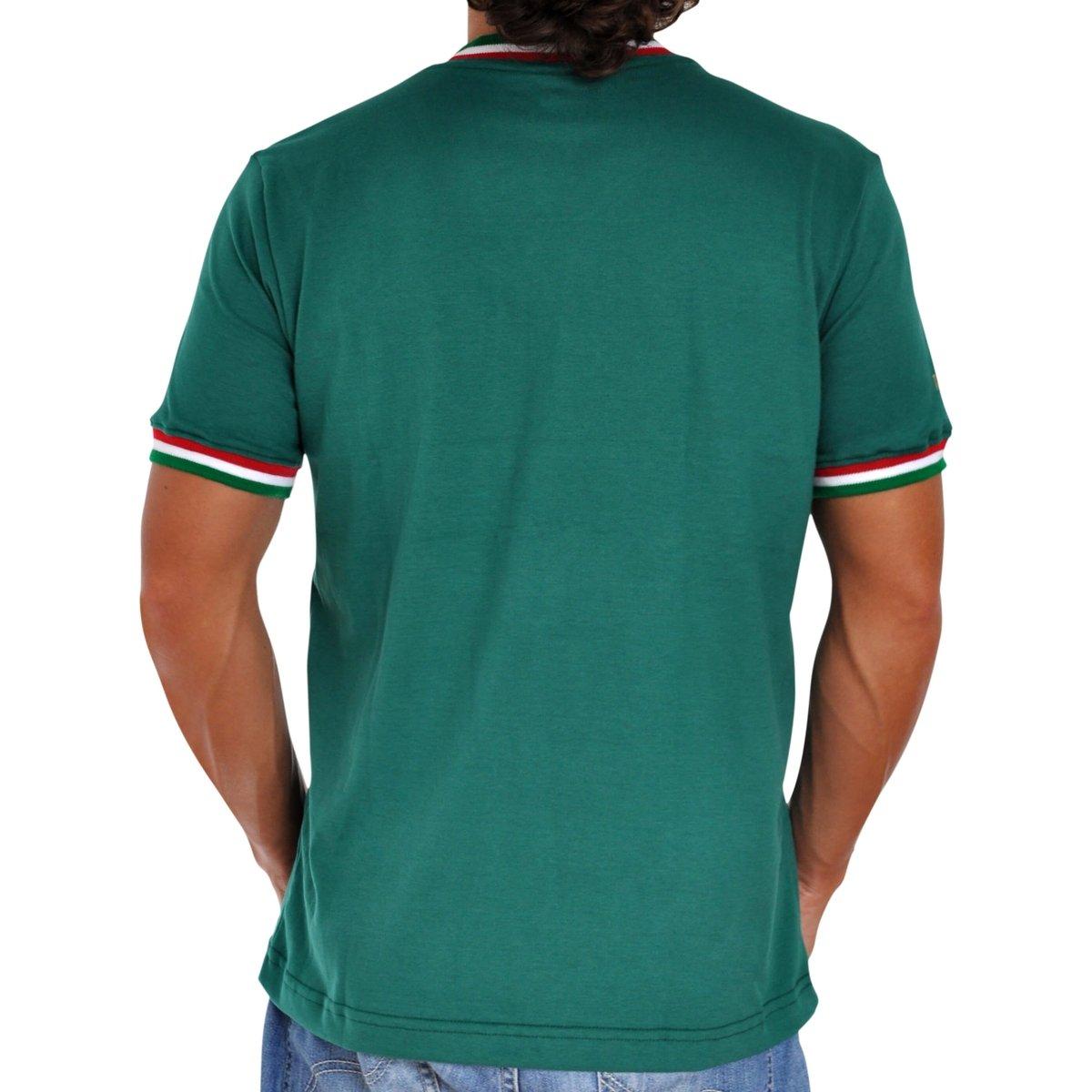Camisa Retrô Mania México 1970 Masculina - Compre Agora  d4cf1a6785159