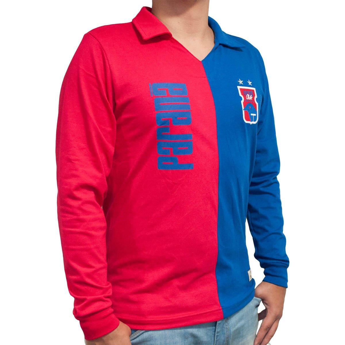 Camisa Retrô Mania Paraná Clube Anos 90 - Longa Masculina - Vermelho ... b9a7739de8988