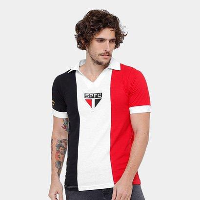 a62864640e Camisa Retrô São Paulo Réplica 1966 Masculina