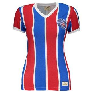 Camisa Retrômania Bahia 1988 Listrada Feminina