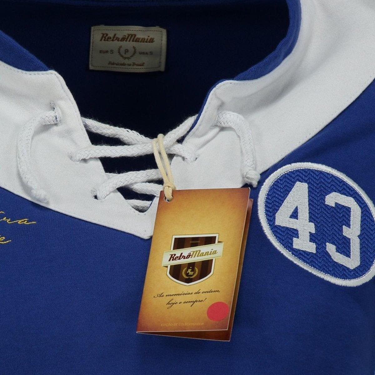 Camisa Retrômania Cruzeiro 1943 Feminina - Azul - Compre Agora ... aae6b1bf6a0f9