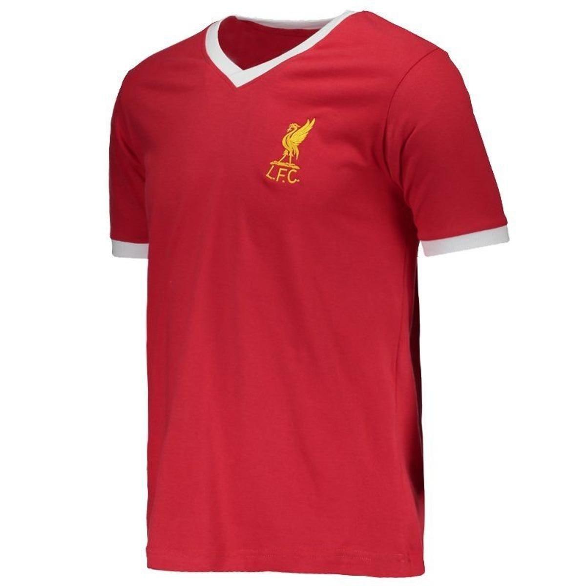 Camisa Retrômania Liverpool 1978 Masculina - Vermelho - Compre Agora ... 8c52b3879b223