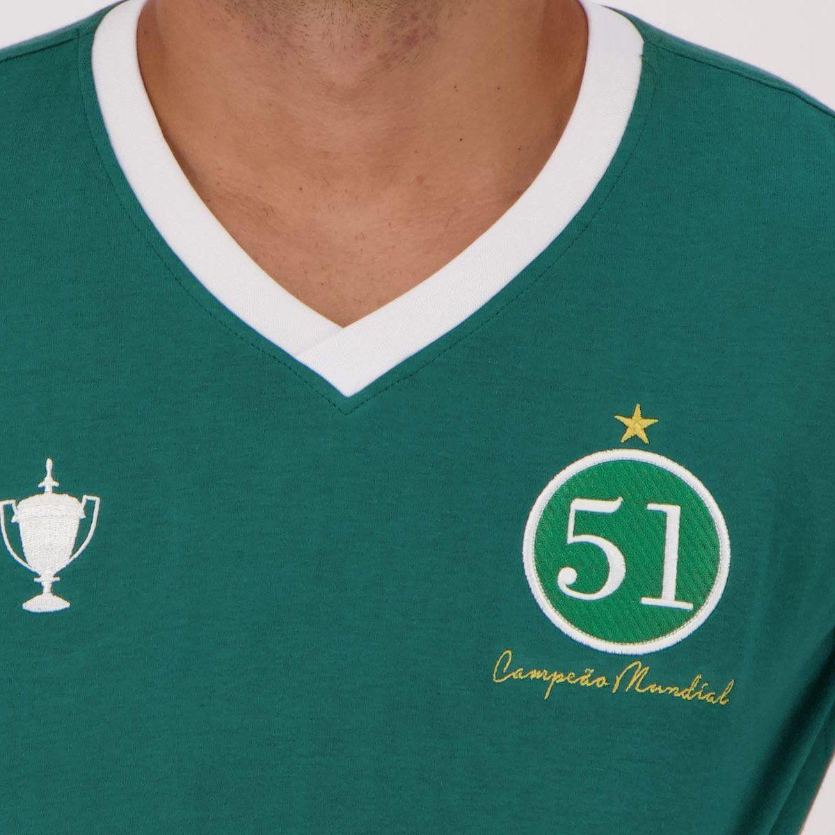 Camisa Retrômania Palmeiras 1951 Masculina - Verde - Compre Agora ... 4bbe936a192c8