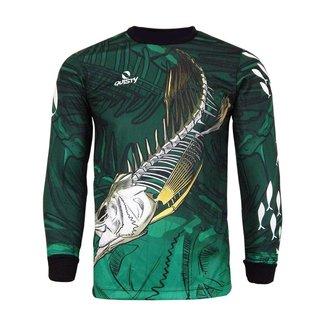 Camisa Robalo Skull P Pesca Esportiva