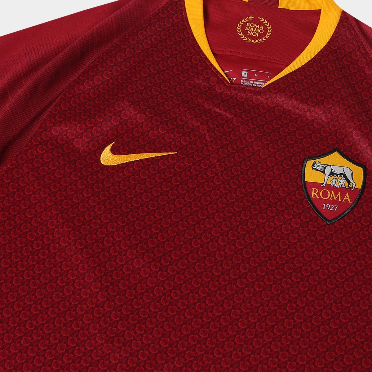 ... Camisa Roma Home 2018 s n° - Torcedor Nike Masculina - Vermelho e . 7bcda5e78bccd