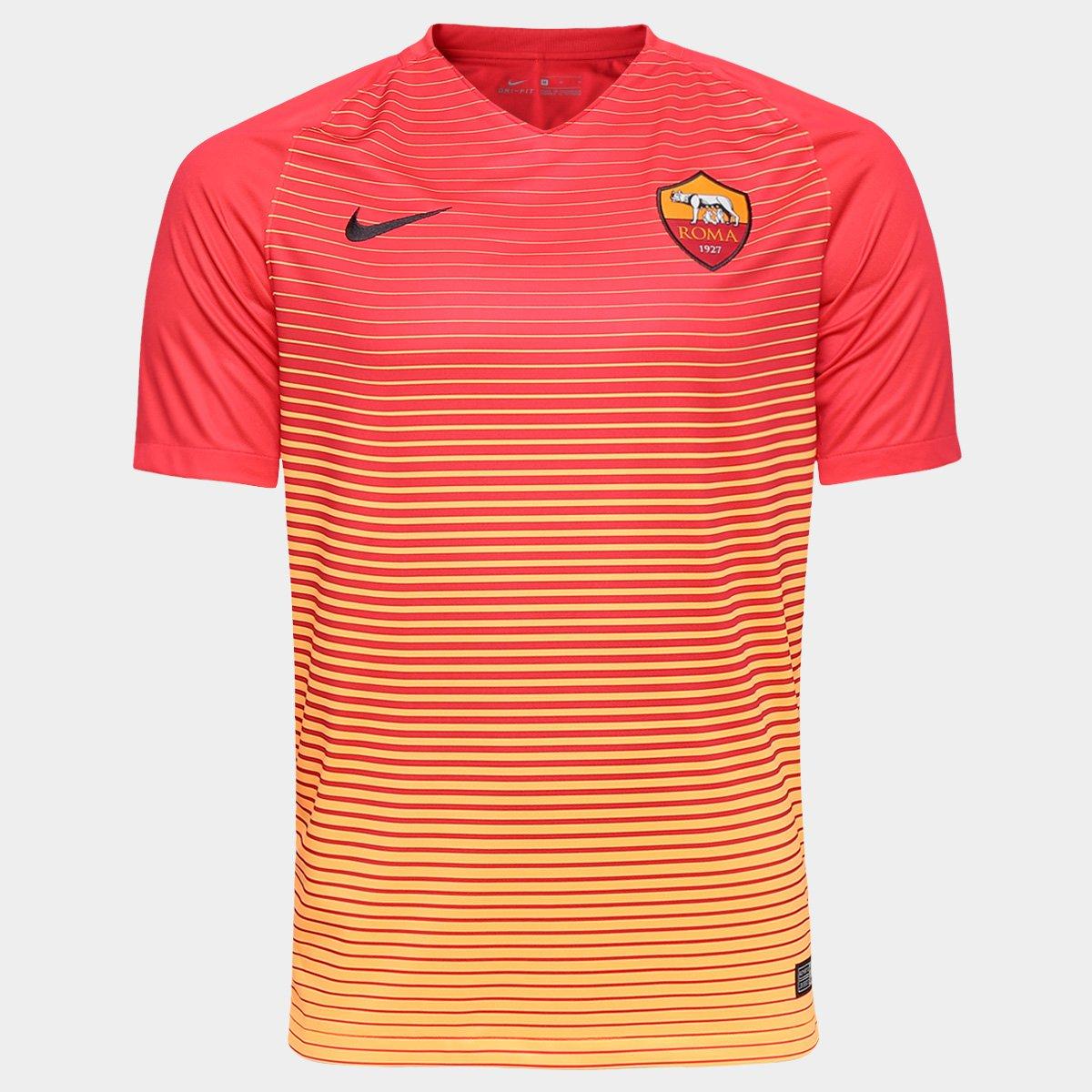 Camisa Roma Third 16 17 s nº - Torcedor Nike Masculina - Compre Agora  843fdf13bd69f
