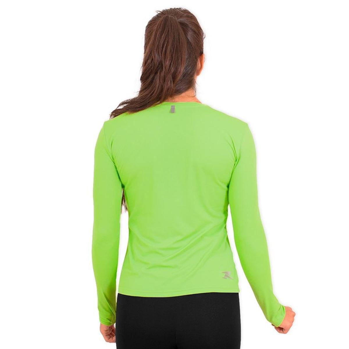 Poliamida LS HC Verde G1 UV50 CLR Performance Camisa 400 Running wSYPZZ