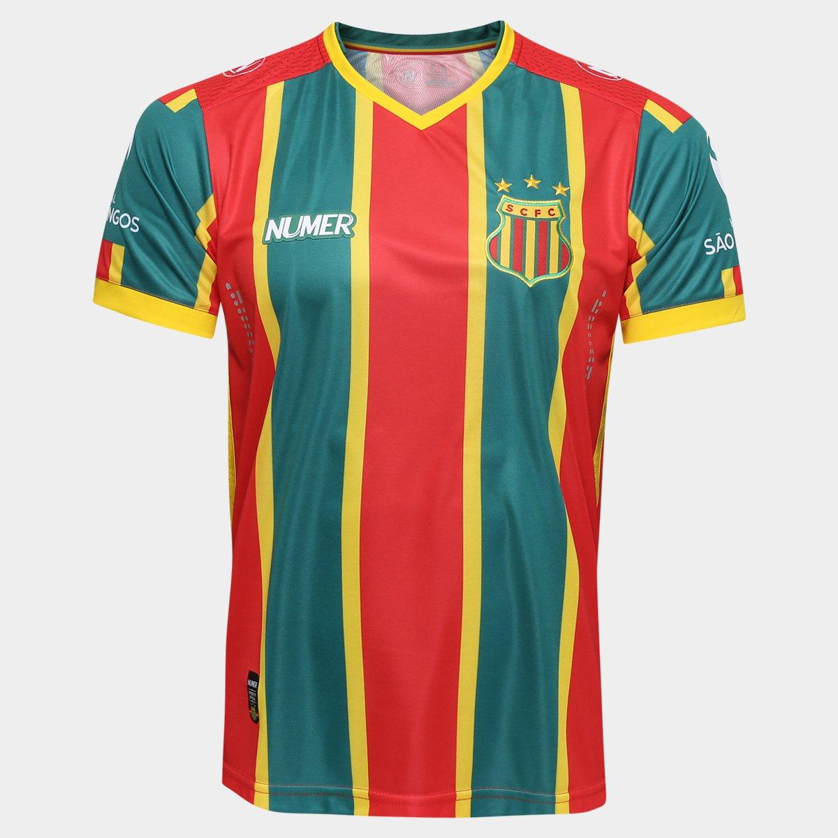 96e227e1ad Camisa Sampaio Corrêa I 2016 s nº - Torcedor Numer Masculina - Compre Agora
