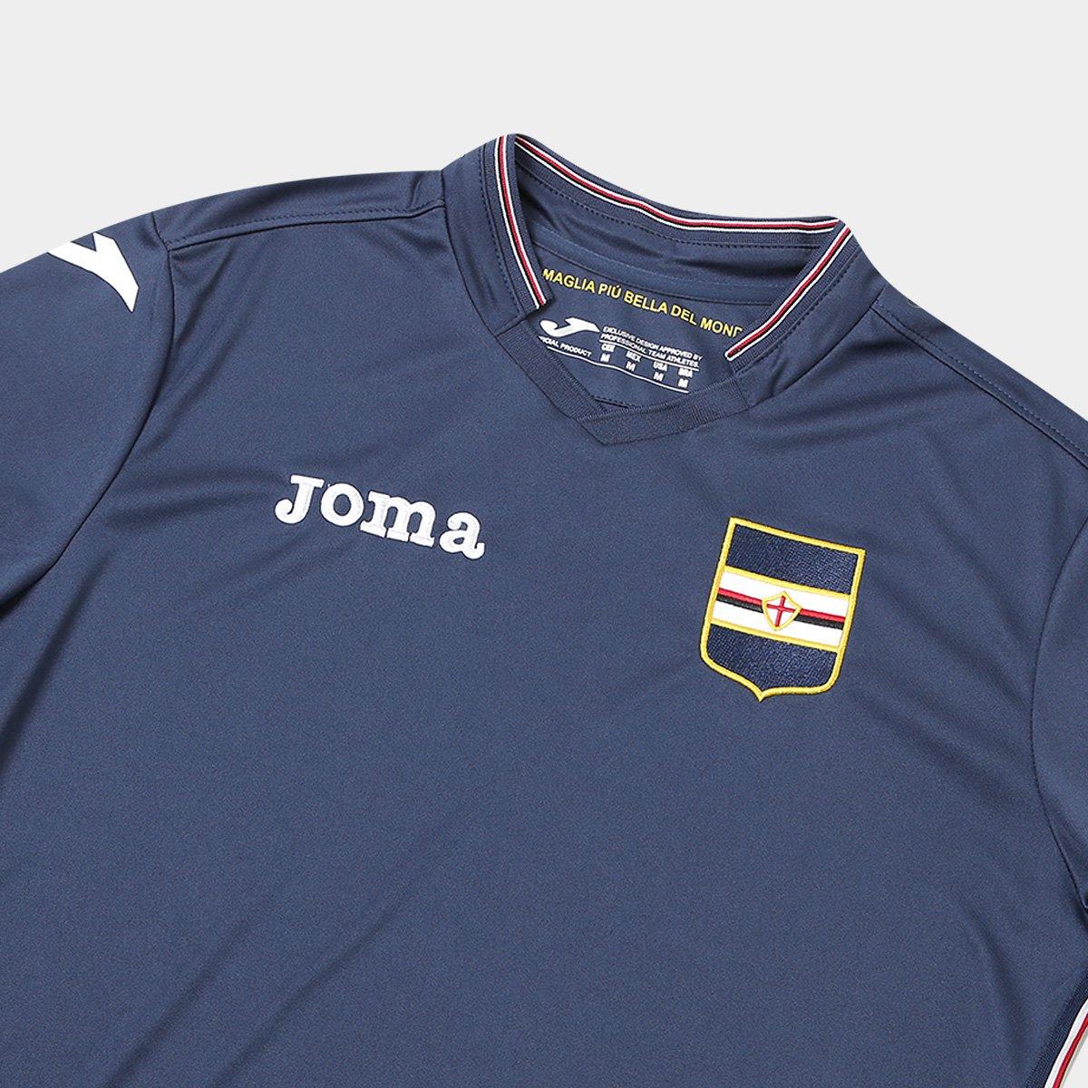 ff54be49c4 Camisa Sampdoria Third 17 18 s n°- Torcedor Joma Masculina - Compre ...