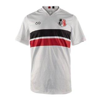 Camisa Santa Cruz Cobra Coral Of.2 20/21 Cor:Branco/Preto/Vermelho;Tamanho:GG;Peso:0.3;