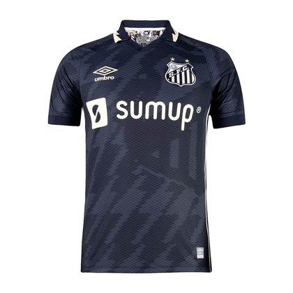 Camisa Santos 2021/2022 Third Nº10 Oficial Umbro