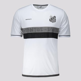 Camisa Santos Approval Infantil Branca