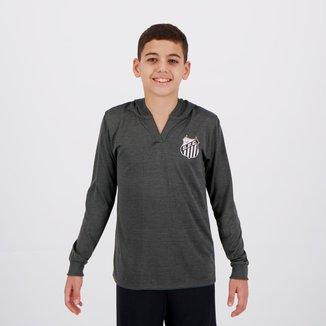 Camisa Santos Believe Manga Longa Infantil