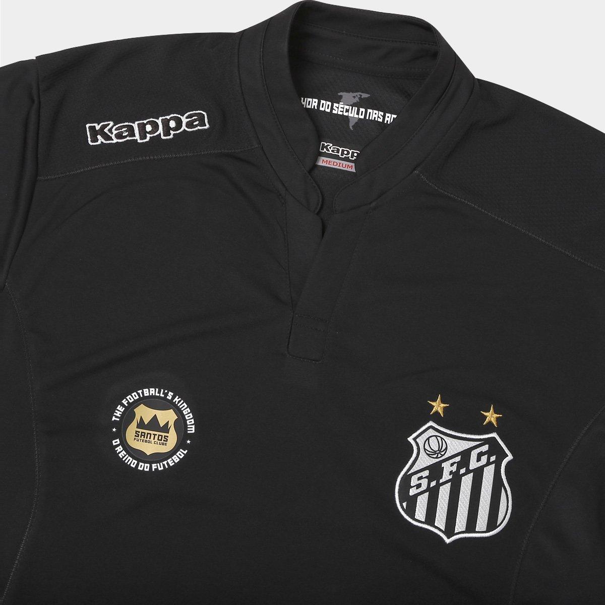 0e3c3faead Camisa Santos Goleiro I 2016 s nº Torcedor Kappa Masculina - Compre ...