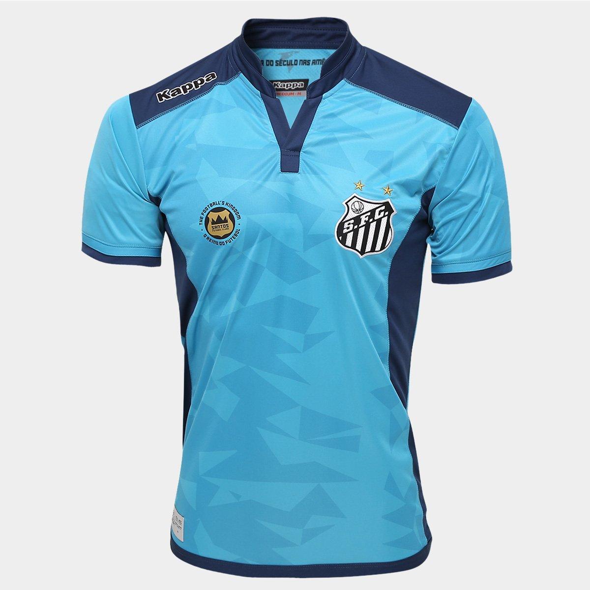 Camisa Santos Goleiro III 2016 s nº - Torcedor Kappa Masculina - Compre  Agora  f55288e652b1c