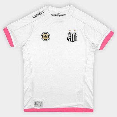 ff702d781ed83 Promoção de Camisa santos ii 1718 torcedor kappa feminina netshoes ...