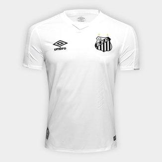 Camisa Santos I 19/20 s/nº Torcedor Umbro Masculina