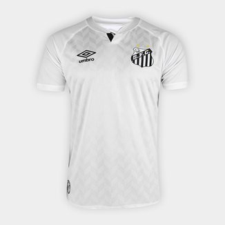 Camisa Santos I 20/21 s/n° Torcedor Umbro Masculina
