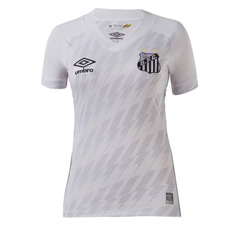 Camisa Santos I 21/22 s/n° Torcedor Umbro Feminina