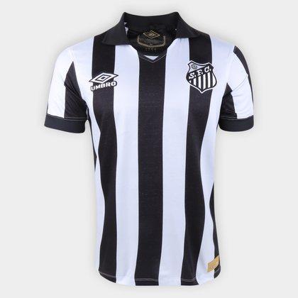 Camisa Santos II 1963 s/n° Torcedor Edição Especial Umbro Masculina