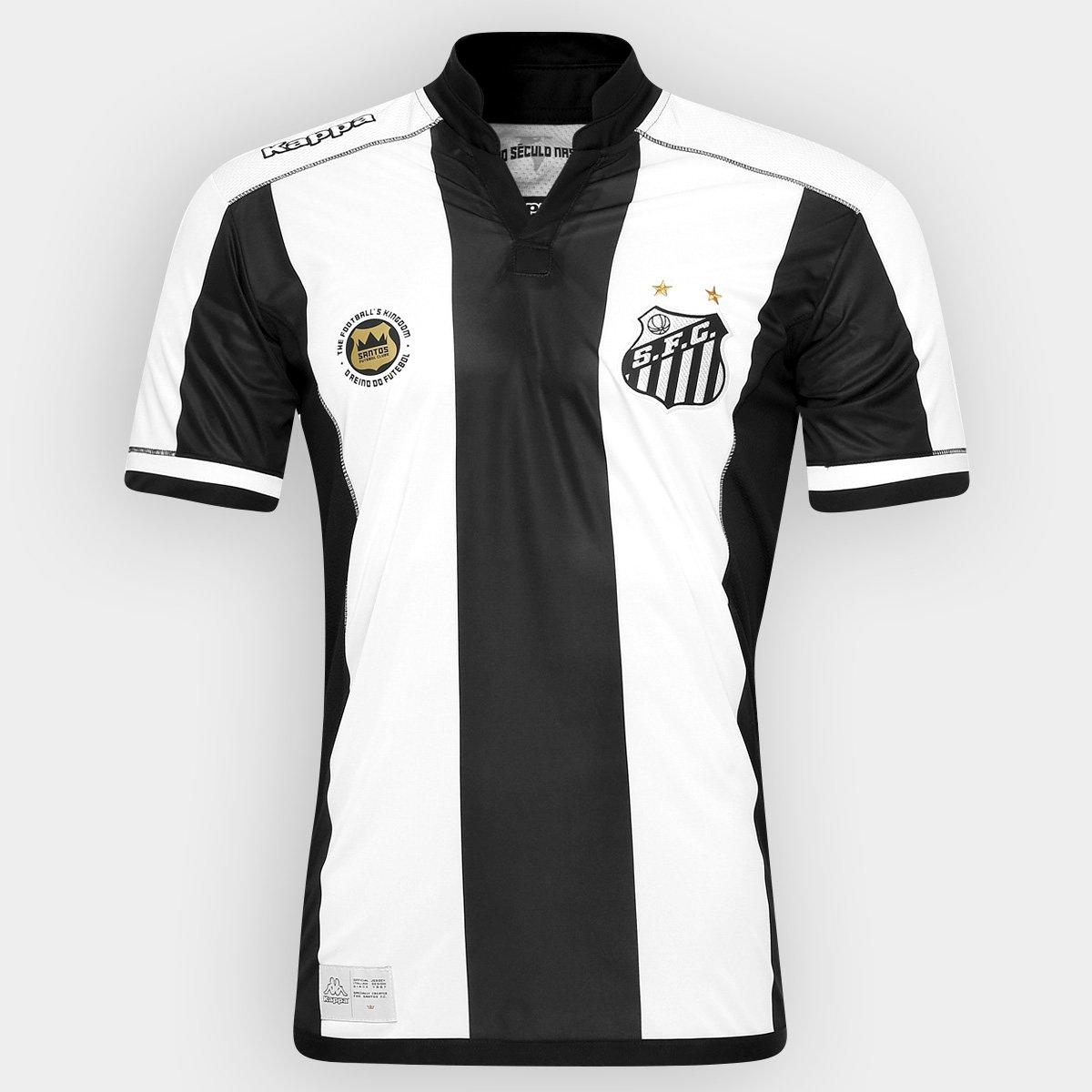 Camisa Santos II 2016 s nº Performance Kappa Jogador Masculina ... f7a75893056c5