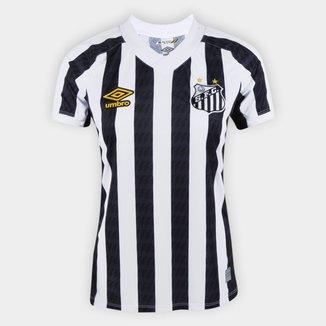Camisa Santos II 21/22 s/n° Torcedor Umbro Feminina