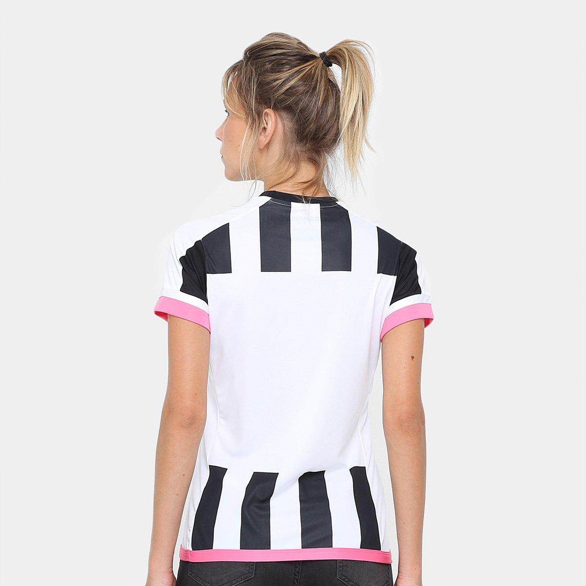 04acb620fc Camisa Santos II Réplica 17 18 s nº Torcedor Kappa Feminina - Compre ...