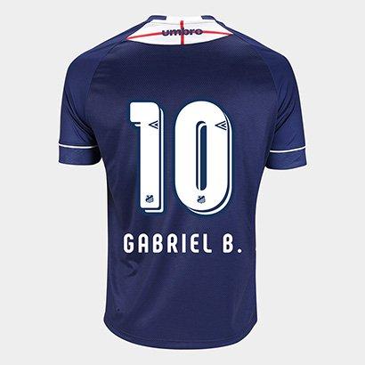 Camisa Santos Iii 2018 N° 10 - Gabriel - Torcedor Umbro Masculina ffd0936d45ac1