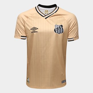 Camisa Santos III 2018 s/n° - Torcedor Umbro Masculina