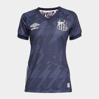Camisa Santos III 21/22 s/n° Torcedor Umbro Feminina