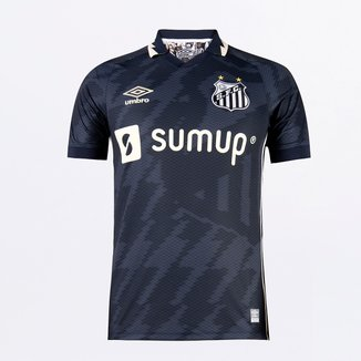 Camisa Santos III 21/22 s/n° Torcedor Umbro Masculina