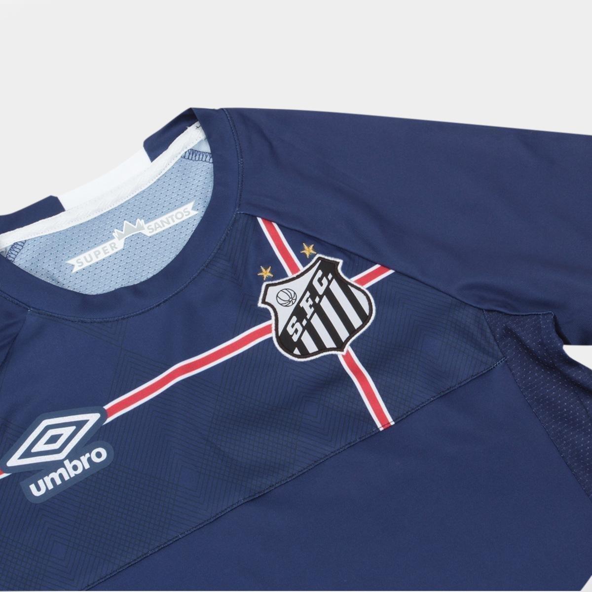 Marinho e Umbro Branco The s Santos 2018 n° Kingdom Camisa Infantil Torcedor q1zS7wv
