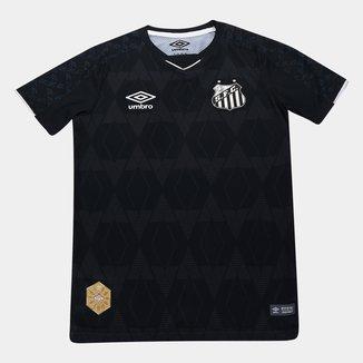 Camisa Santos Infantil III 19/20 s/n° - Torcedor Umbro