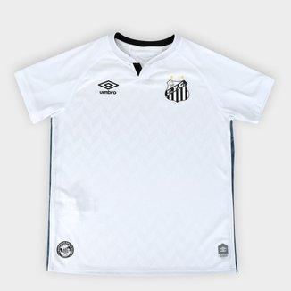 Camisa Santos Juvenil I 20/21 s/n° Torcedor Umbro