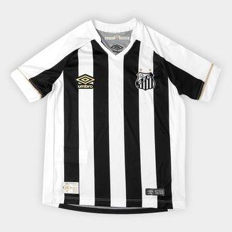Camisa Santos Juvenil II 2018 s/n° Torcedor Umbro