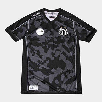 Camisa Santos Juvenil III 17/18 s/n° - Torcedor Kappa