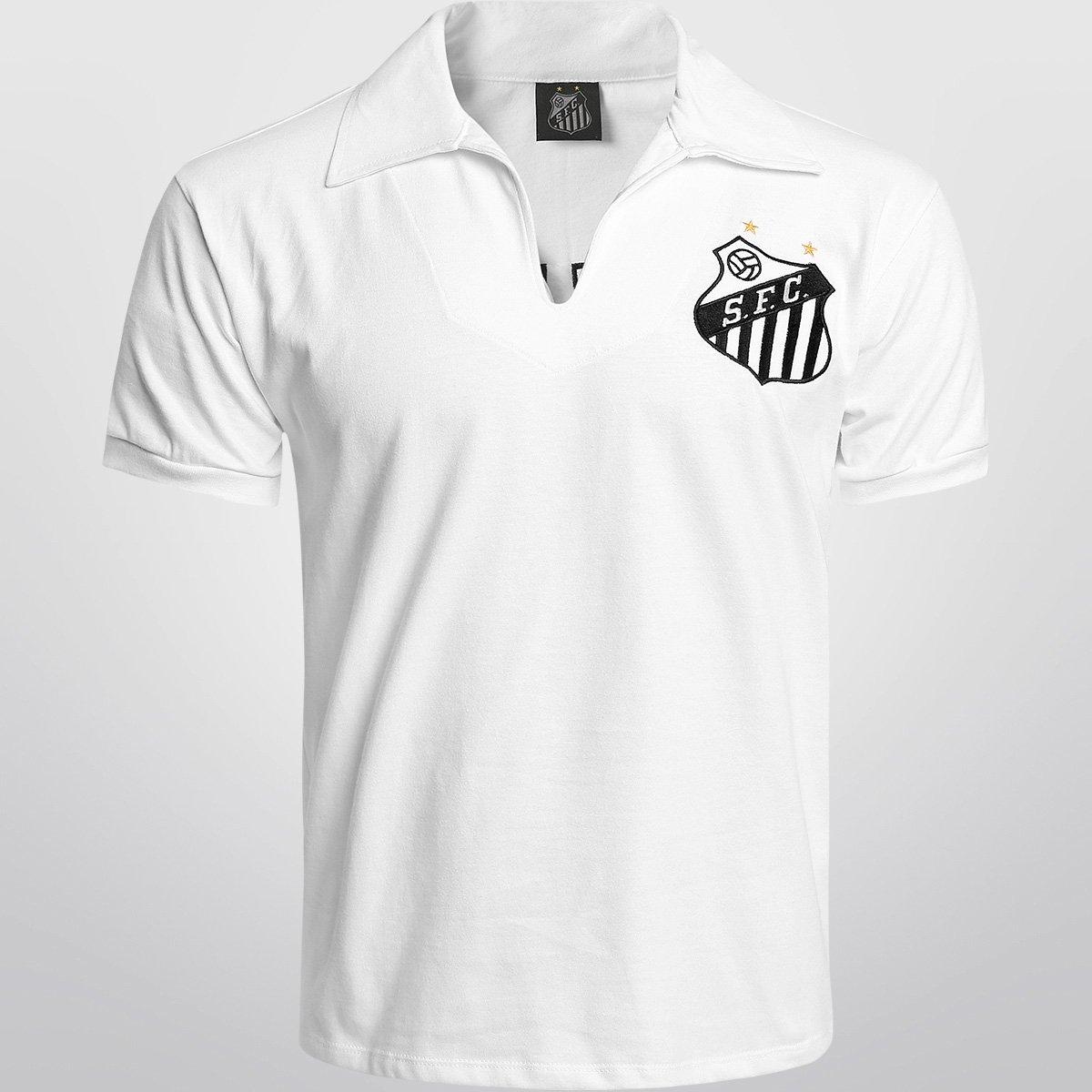 e91f198336 Camisa Santos Retrô nº 10 - Pelé - Compre Agora
