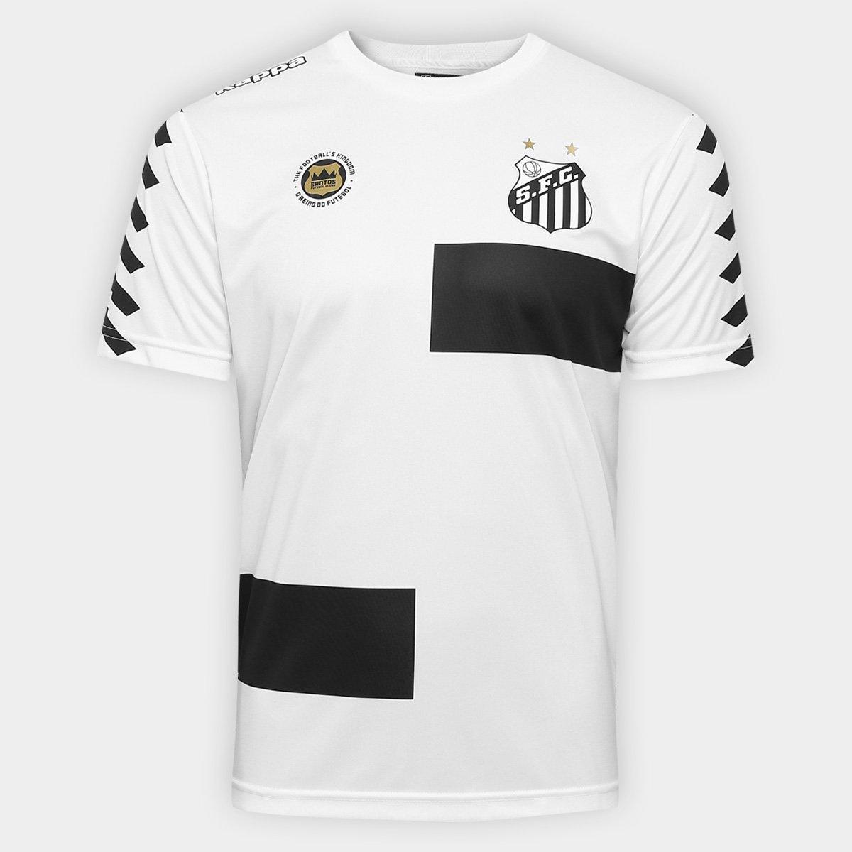 7af624f3da Camisa Santos Treino I 17 18 s nº - Torcedor Kappa Masculina - Compre Agora