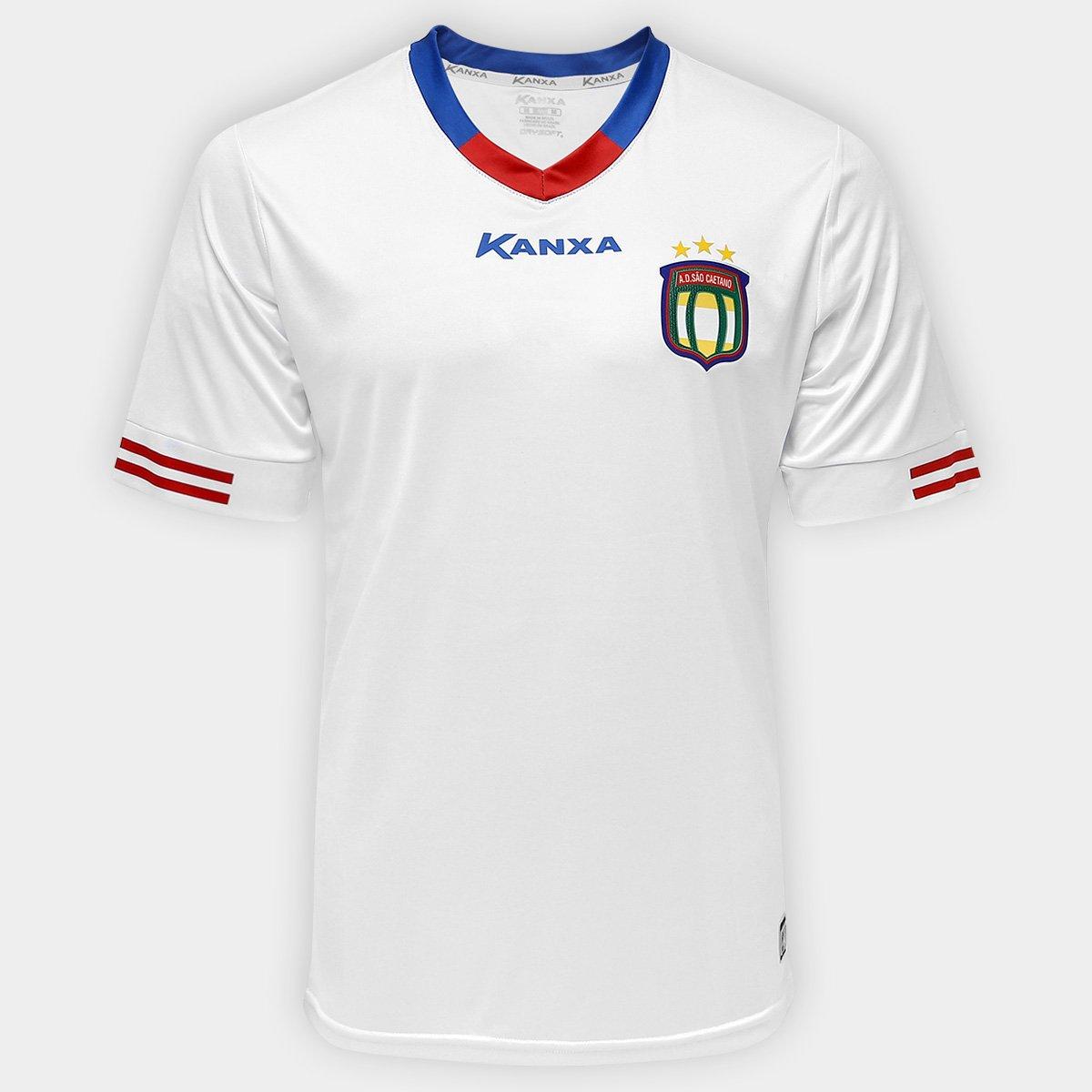 Camisa São Caetano I 2017 nº 10 - Torcedor Kanxa Masculina - Compre Agora  b197a6631acaf